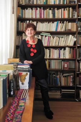 Margo Glantz, ganadora de la Feria Internacional del Libro