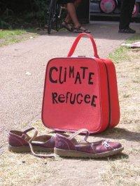 """El """"refugiado climático"""", fracaso ante el calentamiento global por parte de al ONU"""